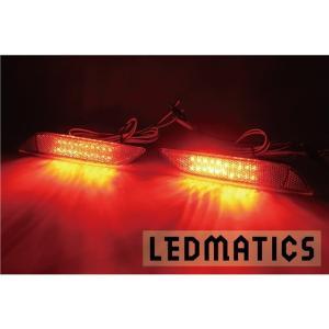 (LEDMATICS商品)E18#H オーリス 後期 純正加工LEDリフレクター T16-40|axisparts