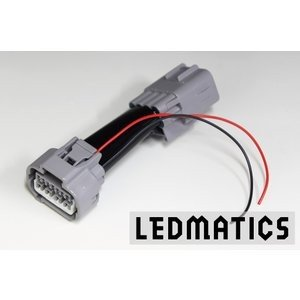 (LEDMATICS商品)M900A/M910A タンク ポジション電源取り出しハーネス LEDヘッドランプ専用|axisparts