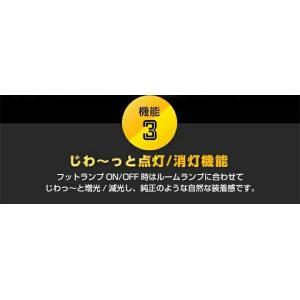 送料無料商品 LEDフットランプ スズキ ジムニー/ジムニー シエラ専用【JB64W/JB74W】8色選択可!調光機能付き|axisparts|04