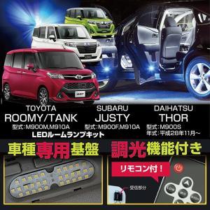 トヨタ ルーミー/タンク(型式:M900A/M910A) スバル ジャスティー(型式:M900F,M910F) ダイハツ トール(型式:M900S)LEDルームランプキット(C)(S)|axisparts
