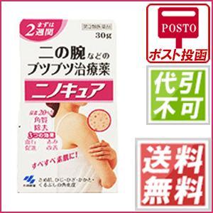 ニノキュア 30g  第3類医薬品   さめ肌/ひじ/ひざ/かかと/くるぶしの角化症/手指のあれ
