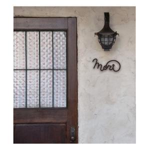 サインO-moji 01(オーモジ01) ステンレス 表札 筆記体 英字 手書き文字 アイアン|axsetafana|02