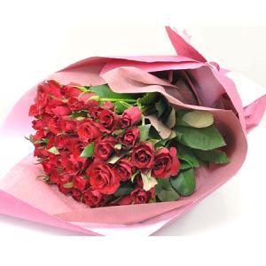 バラの花束 50本入り 赤系 ayahadio