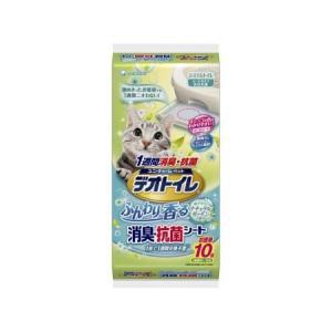 デオトイレ香る消臭・抗菌シートナチュラルガーデンの香り10枚|ayahadio