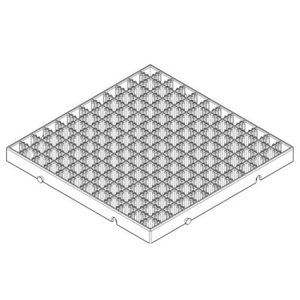 Artecブロックベース正方形小ヘッダーPP袋付(品番:77911)