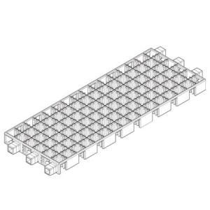 Artecブロックベース長方形ヘッダーPP袋付(品番:77914)