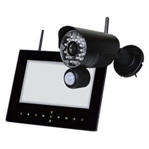 らくらくアイキャン 屋外ワイヤレスカメラセット NS-9015WMS ayahadio
