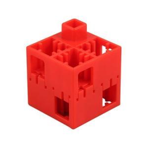 J・ArtecLブロック 四角 100ピース 赤(品番:151478)
