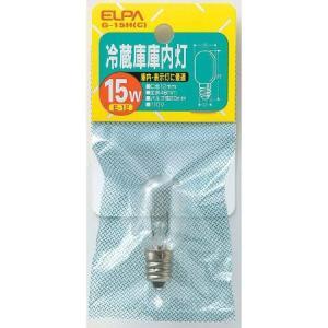 ELPA(エルパ) 冷蔵庫庫内灯(口金E12) G-15H(C)の商品画像 ナビ