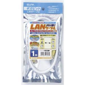 CAT6LANクロス1M LAN-X1010(W)|ayahadio
