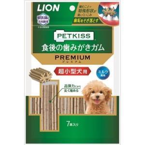 PETKISS 食後の歯みがきガム プレミアム 超小型犬用 7本|ayahadio