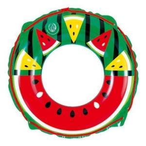 浮き輪 スイカ 50cm|ayahadio