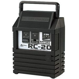 【大自工業 バッテリー充電器チャージャー RC-20】  【仕様】 ●適合バッテリーサイズ ・6N/...