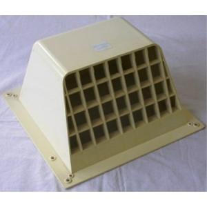 オーム電機 OHM WK-15W ウェザーカバー 20cm×20cm ホワイト 換気扇カバー|ayahadio