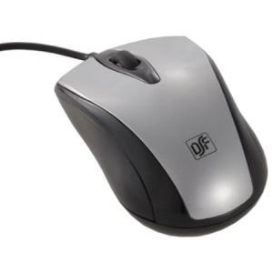 光学式マウス Mサイズ シルバー PC-SMO1M-S