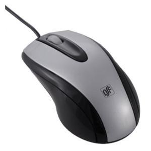光学式マウス Lサイズ シルバー PC-SMO1L-S