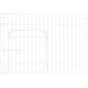 カスタムペットサークル 単品 90入口付 ホワイト|ayahadio