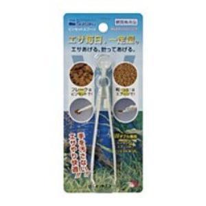 【水作 アクア用品 ピンセット スプーン エサ ピンセット 粒状 飼育用品】