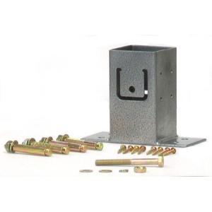 ラティス用柱固定金具 ベースプレート TKP-02|ayahadio
