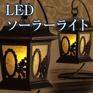 ソーラーライト シルエットストーリー ランタン ミッキー&ミニー TD-LR04|ayahadio