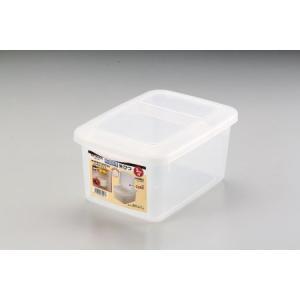 ストックス 冷蔵庫用米びつ3kg用(計量カップ付)|ayahadio