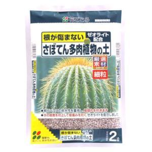 さぼてん多肉植物の土(細粒) 2L|ayahadio