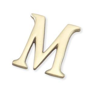 切文字 真ちゅう製テープ付 M   LB38-M