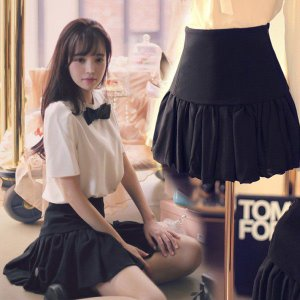 プリーツ・フレアー・ミニスカート|ayainc