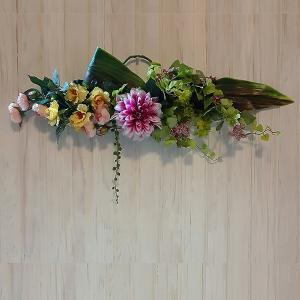 壁掛け・壁飾りに。アートフラワーアレンジメント「Claire」|ayanasu-hanakobo