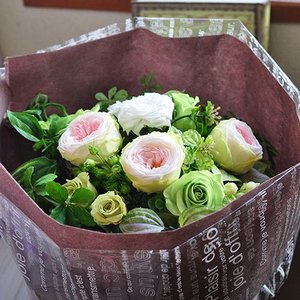 プリザーブドフラワー花束「Etude」 |ayanasu-hanakobo