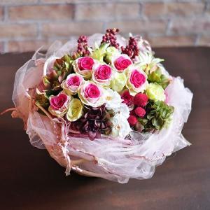 プリザーブドフラワーアレンジメント「Rose concerto」 |ayanasu-hanakobo