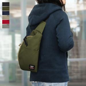 ドロップ型がま口ボディバッグ Sarei コーデュラ(R)Eco Fabric 在庫商品 ayano-koji
