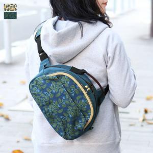 AYANOKOJI がま口ポシェット型ボディバッグ 帆布 がまの実 在庫商品|ayano-koji