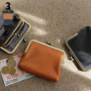 AYANOKOJI 平親子がま口財布 Fine Leather2 財布 革 小型 がま口財布 本革 小型 二つ折り  カード入れ|ayano-koji