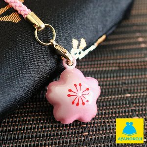 桜水琴鈴 ストラップ/鈴/すいきんすず/すいきんれい/和雑貨/さくら/浴衣 小物 在庫商品|ayano-koji