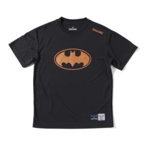 SALE  スポルディング  Tシャツ BATMAN  SMT170180-BK(XXSサイズ)|ayksports