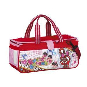 絵の具バッグのみ(専用筆洗付き)水彩絵のバッグ,子供,小学生,女の子用,人気,パクトアンサンブル,スイーツのアンサンブル柄|ayumu-kyouzai