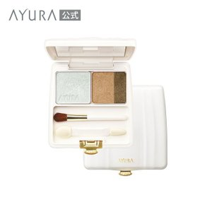 アユーラ公式 アイシャドー ブーケカラーアイズ 3.6g  3種 ローズ系 ブラウン系 ベージュ系 AYURA|ayura
