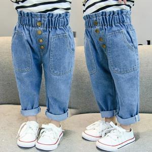 5157cfabf167dc 子供 デニムパンツ 女の子 男の子 ウォッシュ ダメージ加工 ジュニア 子ども キッズ デニムパンツ ボトムス ジーンズ 長ズボン 子供服 キッズ服