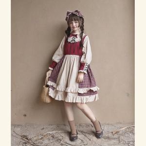 ゴスロリ ロリータファッション lolita ロリータ服 衣装 可愛い 女性 ドレス 日常 イベント,忘年会,文化祭,