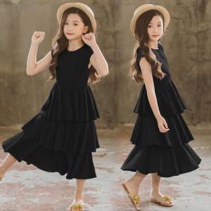 2561dd0149796 韓国子供服 女の子 ワンピース フォーマル ピアノ演奏会 入学式 発表会 結婚式 キッズ 夏装 スウィート. 1