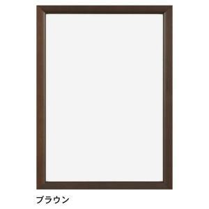 フレーム ステインパネル ブラウン B2/絵画 壁掛け 壁飾り インテリア 油絵 花 アートパネル ポスター 絵 額入り リビング 玄関|ayuwara