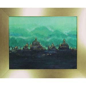 和紙アートフレーム/Orient/絵画 壁掛け 壁飾り インテリア 油絵 花 アートパネル ポスター 絵 額入り リビング 玄関|ayuwara