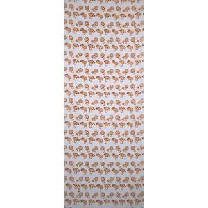 絵てぬぐい 絵画 きのこ(茶)・小紋柄/手ぬぐい 手拭い タオル インテリア 伝統工芸 外国人 海外 ギフト プレゼント アート 和雑貨 ayuwara