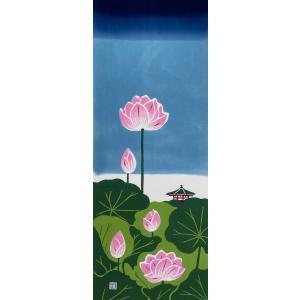 絵てぬぐい 絵画 日本の夏 メール便/手ぬぐい 手拭い タオル インテリア 伝統工芸 外国人 海外 ギフト プレゼント アート 和雑貨|ayuwara