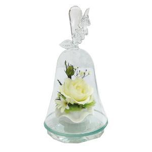 ボトルフラワー/120/ハンドベル葡萄/ホワイト/ドライフラワー 花 天然色 おしゃれ 枯れない 飾り 華やか 高級 誕生日 祝い ギフト 母 祖母 ayuwara