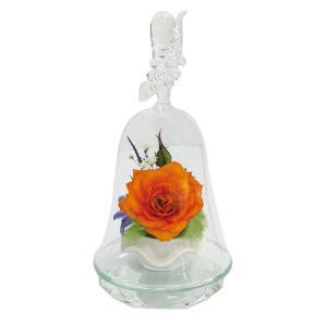 ボトルフラワー/120/ハンドベル葡萄/オレンジ/ドライフラワー 花 天然色 おしゃれ 枯れない 飾り 華やか 高級 誕生日 祝い ギフト 母 祖母 ayuwara