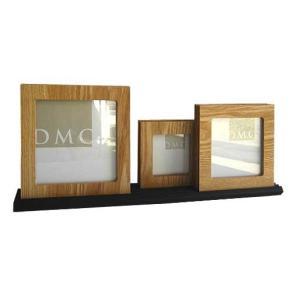 フォトフレーム/DMC Photoframe Double side 3set Natural/壁掛け 立てかけ 記念 写真 飾り 出産祝い 結婚祝い 写真立て ayuwara