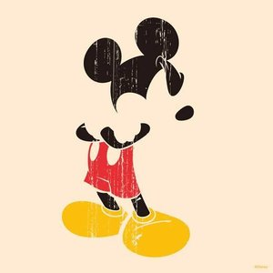 キャンバスアート ディズニー キャンバスパネル 50角 ミッキー/絵画 壁掛け 壁飾り インテリア 油絵 花 アートパネル ポスター 絵 額入り リビング 玄関 ayuwara