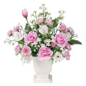 アートフラワー 造花/リトルロ−ラ/ミニタイプ/光触媒 観葉植物 フェイクグリーン 花 開店祝い 開業祝い 誕生祝い 造花 おしゃれ|ayuwara